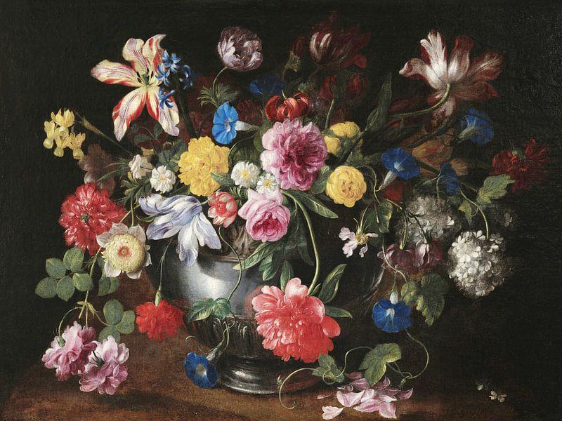 Stilleben mit Blumen, Nicolas Baudesson von Meesterlijcke Meesters