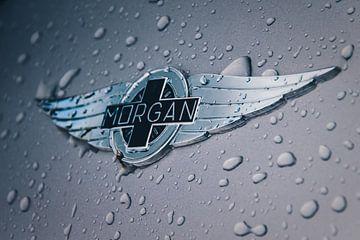Morgan logo met regendruppels van Richard Kortland