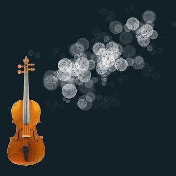 Dromen van vioolmuziek van Greta Lipman