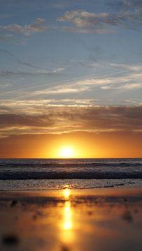 Sonnenuntergang, Los Angeles, Vereinigte Staaten von Joost Jongeneel