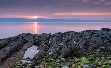 Sonnenuntergang auf Arran, Schottland von Adelheid Smitt