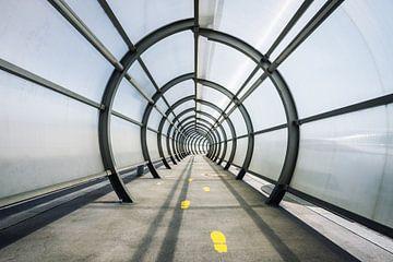 Tunnelvisie in Wenen van Mitchell van Eijk
