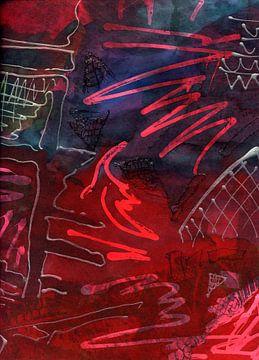 mystische Elemente 1 von Claudia Gründler