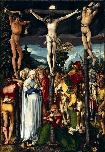Hans Baldung Grien.Die Kreuzigung von 1000 Schilderijen