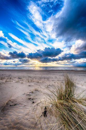 winterse zonsondergang van Alex Hiemstra