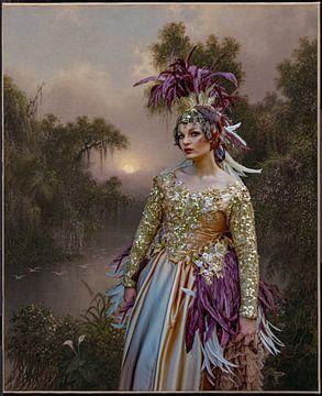 Conte de fées baroque sur Lisette van Peenen