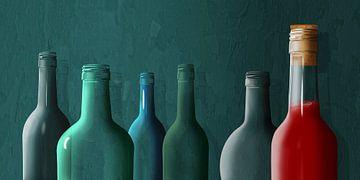 La dernière bouteille pleine sur Monika Jüngling