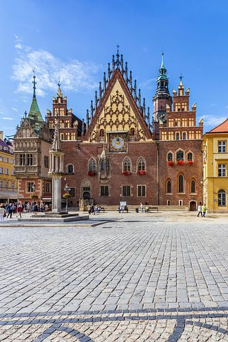 WROCLAW Main Market Square and Town Hall
