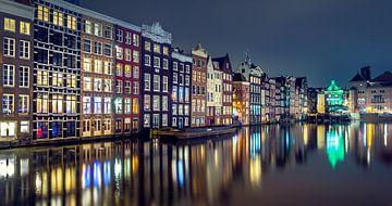 Damrak Amsterdam van Martijn van Dellen