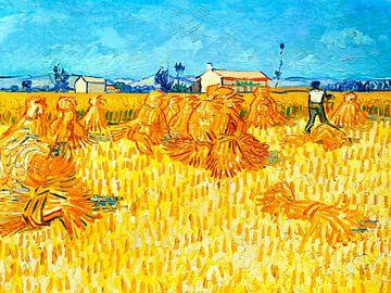 Ernte in der Provence - Vincent van Gogh - 1888 von Jan Willem van Doesburg