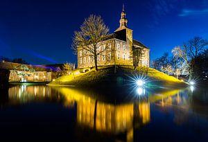 Kasteel Limbricht by night