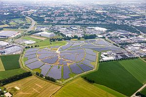 Parc solaire Bavelse Berg, Minervum Breda Photo aérienne sur I Love Breda