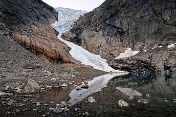 Briksdalsbreen, Noorwegen van Martijn Smeets