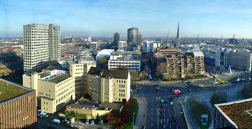 Skyline Dortmund van Edgar Schermaul
