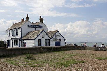 """Whitstable UK, """"The Old Neptune"""" van"""