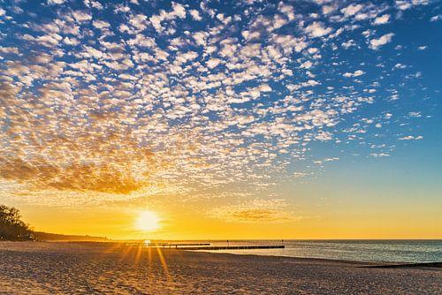 Sonnenuntergang am Strand von