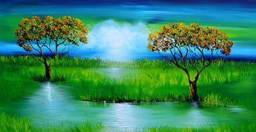 Green Nature  von Gena Theheartofart