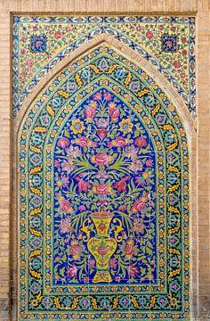 Iran: Agha Bozorgmoskee (Kashan) van Maarten Verhees
