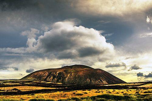 Uitgedoofde vulkaan van Harrie Muis