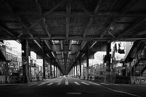 31st street crossing, Astoria, Queens , New York van