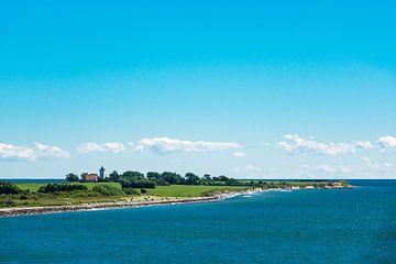 Landzunge an der dänischen Ostseeküste bei Gedser von Rico Ködder