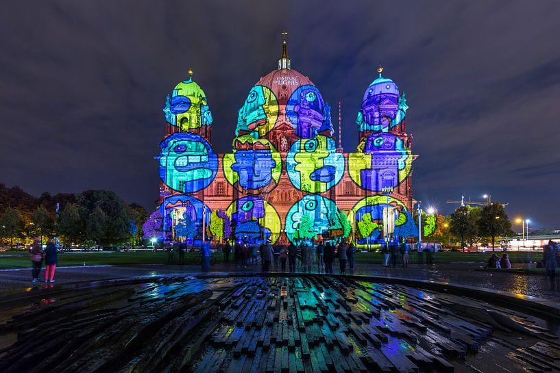 La cathédrale de Berlin sous un éclairage particulier sur Frank Herrmann