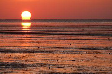 Zonsondergang von Douwe Schut