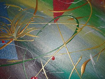 Abstrakt II van Peggy Gennrich