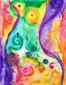 Freiheit von Sandra Riedel ( SaRidie-arts)