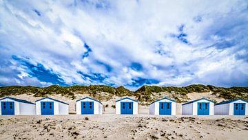 Strandhuisjes Texel De Koog van Mario Calma