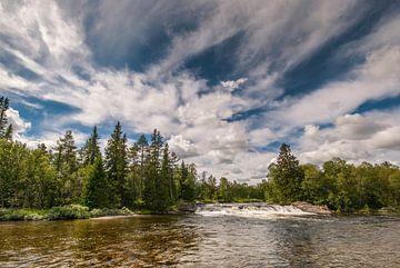 Waterval Zweden van Margreet Frowijn
