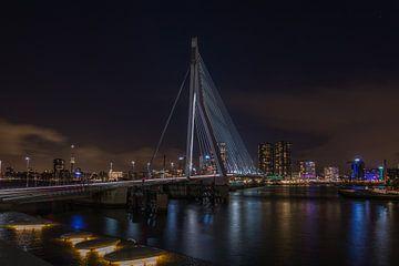 Le Cygne - Pont Erasmus - Rotterdam sur Mart Houtman