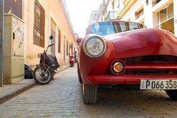 Cuba straatje van Tom Hengst