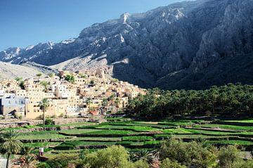 Bilad Sayt, een bergdorp in het Hajar gebergte van Karin Mooren