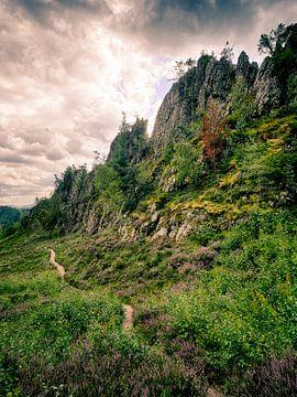 Großer Pfahl bei Viechtach im Bayerischen Wald 2 von Jörg Hausmann