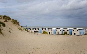 Strandhuisjes van Nicole Boekestijn