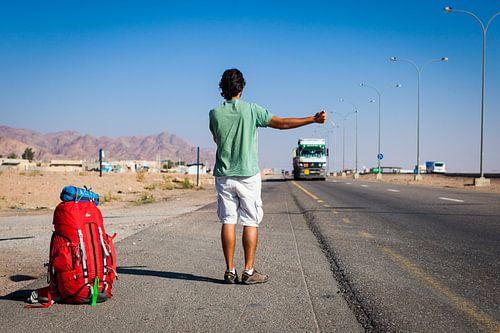 Liften en backpacken in Jordanië