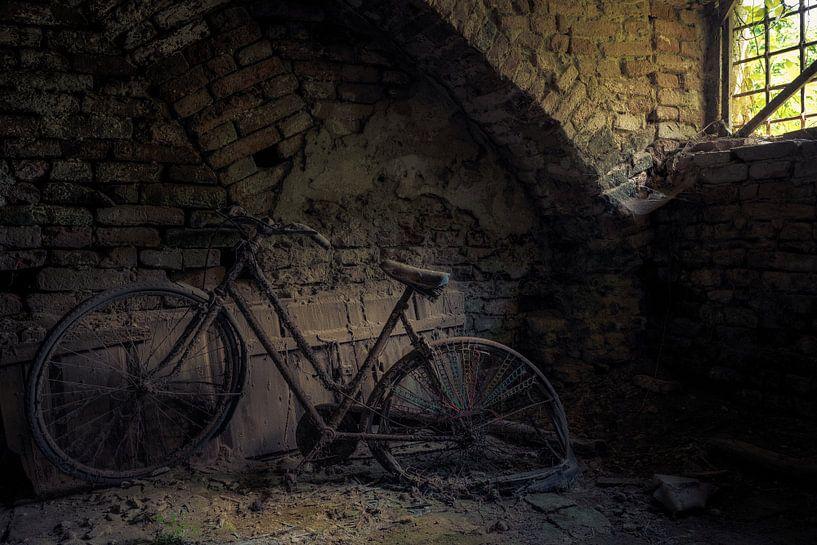Altes Fahrrad im Keller von Perry Wiertz