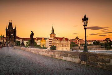 Karlsbrücke in Prag von Antwan Janssen