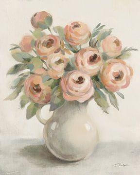 Blozen bloemen in een kruik, Silvia Vassileva van Wild Apple