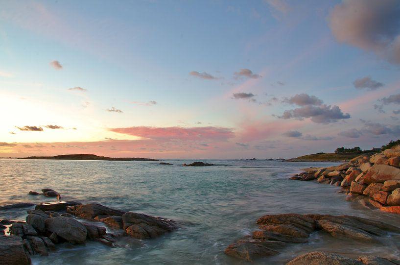 Cote de granit rose, Landrellec, Brittany van 7Horses Photography