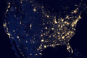 Verenigde Staten bij Nacht