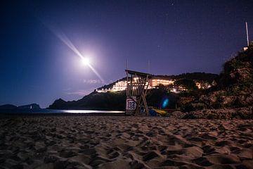 Ibiza strand. von Lars Mol