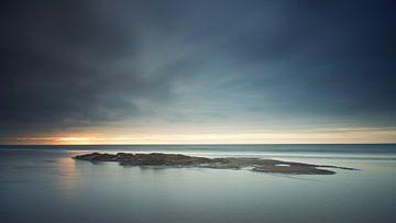 Dunkler Sonnenuntergang Zandvoort von Gerhard Niezen Photography