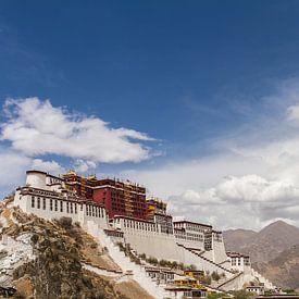 Palais de Potala à Lhassa, Tibet sur Erwin Blekkenhorst