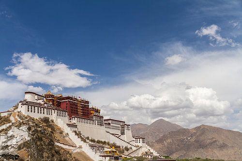 Potala paleis in Lhasa, Tibet