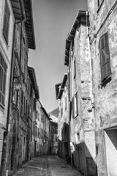 Typische französische Straße von