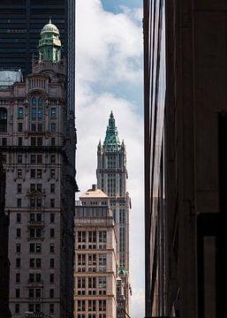 Toren in New York van Geert Keularts