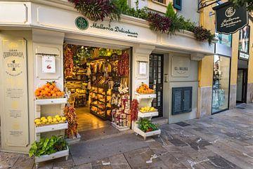 Mallorca Delicatessen, boutique de produits gastronomiques dans le centre historique de Palma de Maj sur Alex Winter