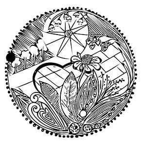Bloemen Ornament